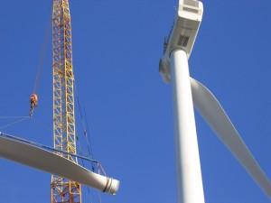 Gondel en rotoropbouw